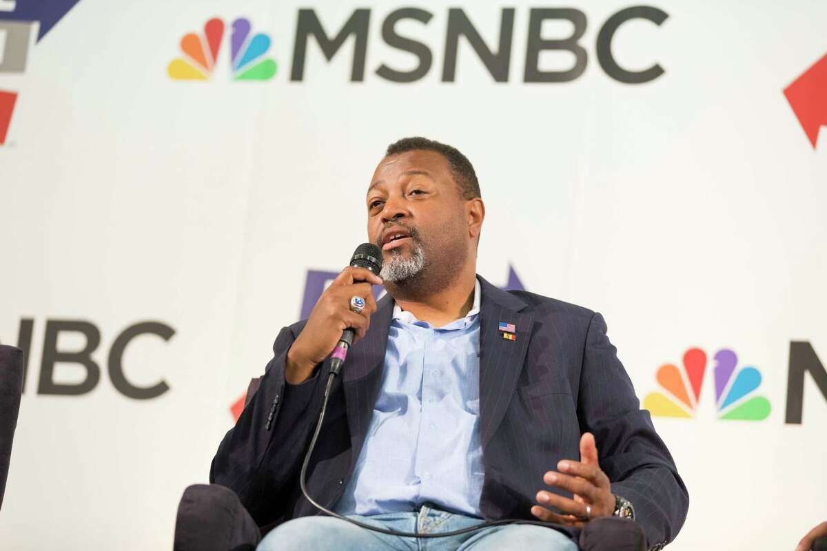Malcolm Nance attends Politicon at The Pasadena Convention Center on Sunday, Aug. 30, 2017, in Pasadena, Calif. (Photo by Colin Young-Wolff/Invision/AP)