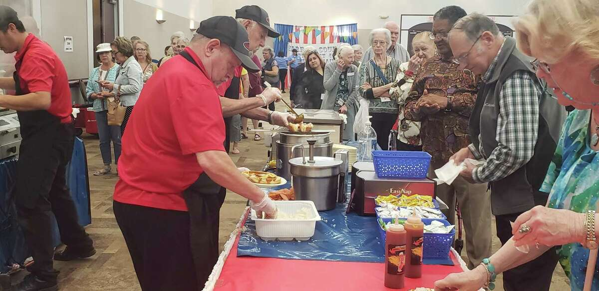 Precinct 4 seniors attended the first annual Spring Fling festival at the Humble Civic Center on March 27, 2019.
