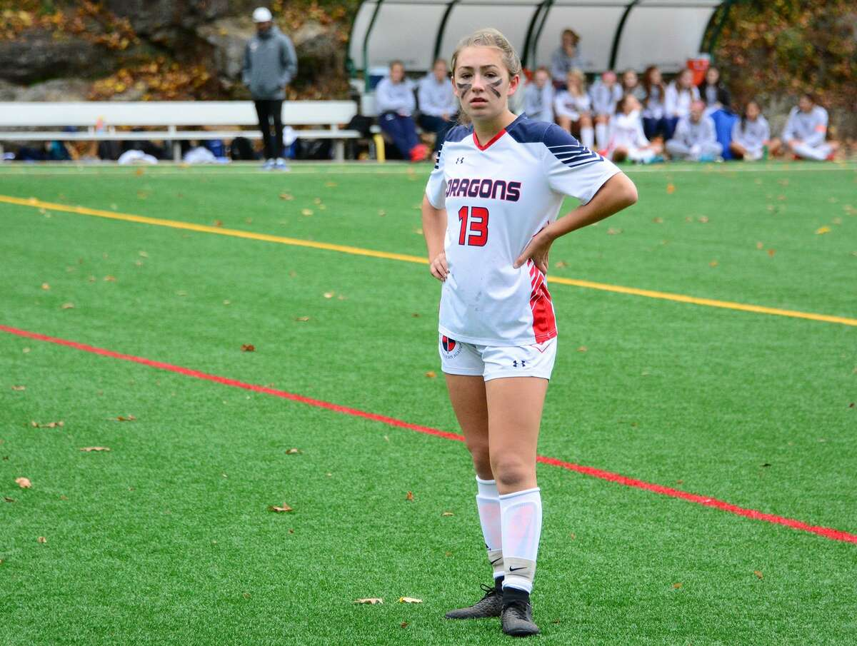 GFA's Elyse Kimball has verbally committed to play soccer at Richmond after she graduates. Elyse and her sister Lexi, a sophomore basketball player at Georgetown, are believed to be the first siblings from GFA to play at the Division 1 level.
