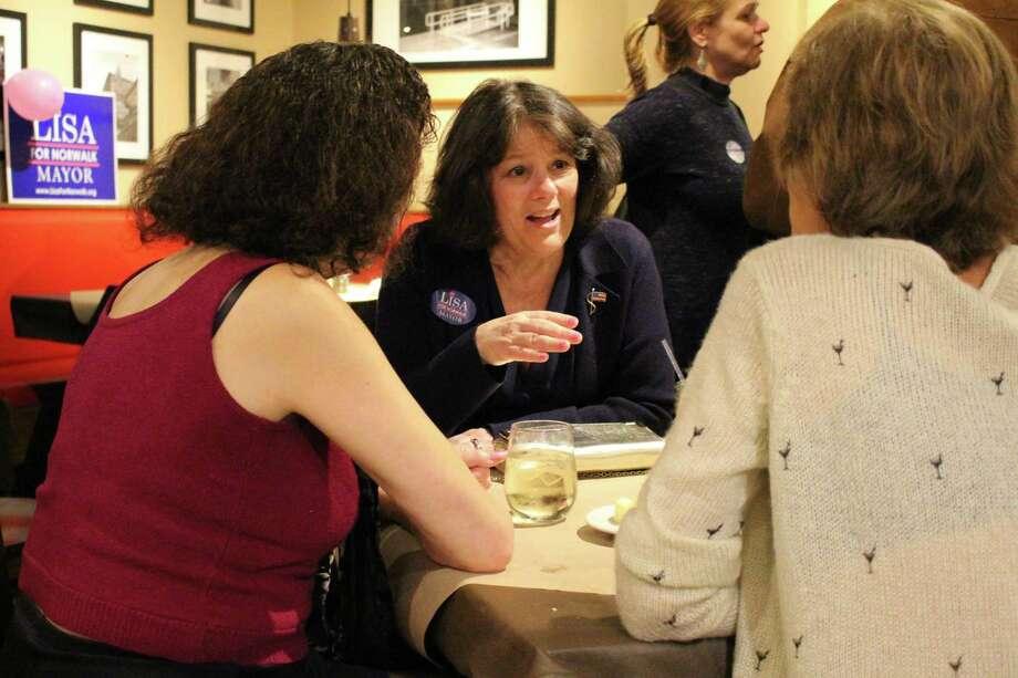 Lisa for Norwalk: Caroline Chiodo, Norwalk, retired, $1,000 Photo: Kelly Kultys / Hearst Connecticut Media /