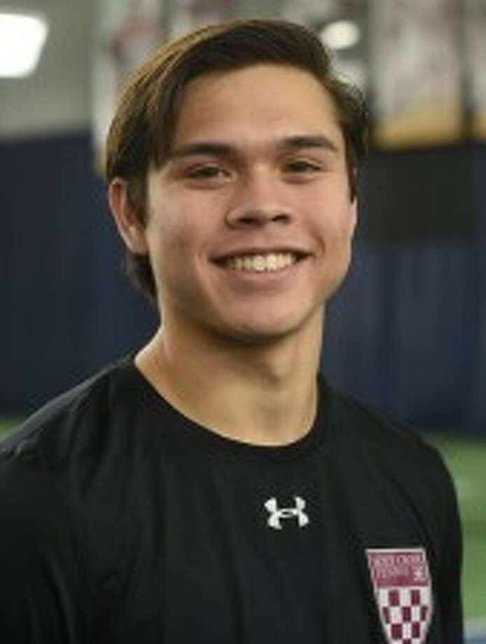 Grady alum and Holy Cross College freshman tennis player Dominic Gibson Photo: Holy Cross College