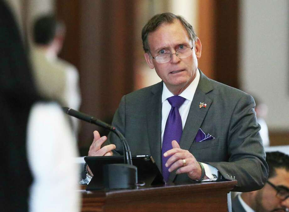 State Rep. John Zerwas, R-Richmond, will speak at the Sept. 17 meeting of Barker Flood Prevention. He will retire from the Texas House of Representatives in September.  Photo: Tom Reel, Staff / Staff Photographer / 2019 SAN ANTONIO EXPRESS-NEWS