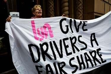 uber lyft drivers strike bay area