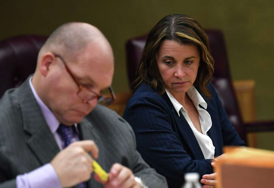 Kelly Daws is on trial this week for conspiracy to have her estranged husband Jerry Daws a Port Arthur Police officer in 2016.  Photo taken Tuesday, 3/26/19 Photo: Guiseppe Barranco/The Enterprise, Photo Editor / Guiseppe Barranco ©