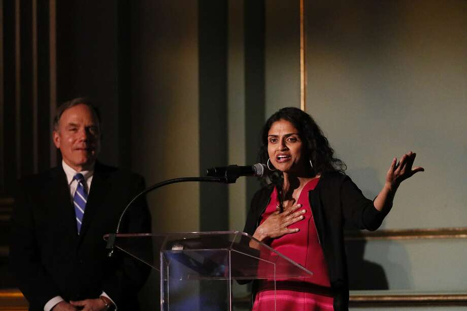 Saru Jayaraman has devoted her career to fighting injustices large and small in the restaurant world. Photo: Paul Kuroda / Special To The Chronicle