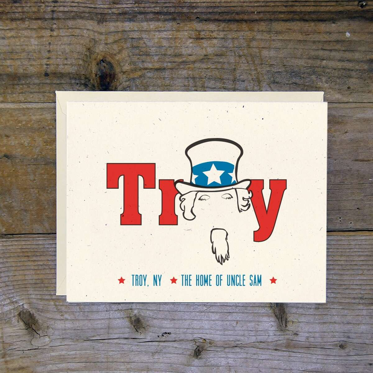 This Troy Cloth & Paper print is $14 as is, with availability as greeting cards. (Provided, Troy Cloth & Paper)