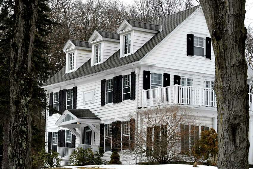 One of the beautiful historic homes off S. Lyons Avenue at West Kenmar Road on Monday, March 11, 2019, in Menands, N.Y. (Will Waldron/Times Union)