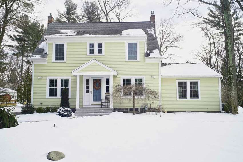 A view the home of designer Lee Owens and her husband on Tuesday, March 5, 2019, in Niskayuna, N.Y. (Paul Buckowski/Times Union)
