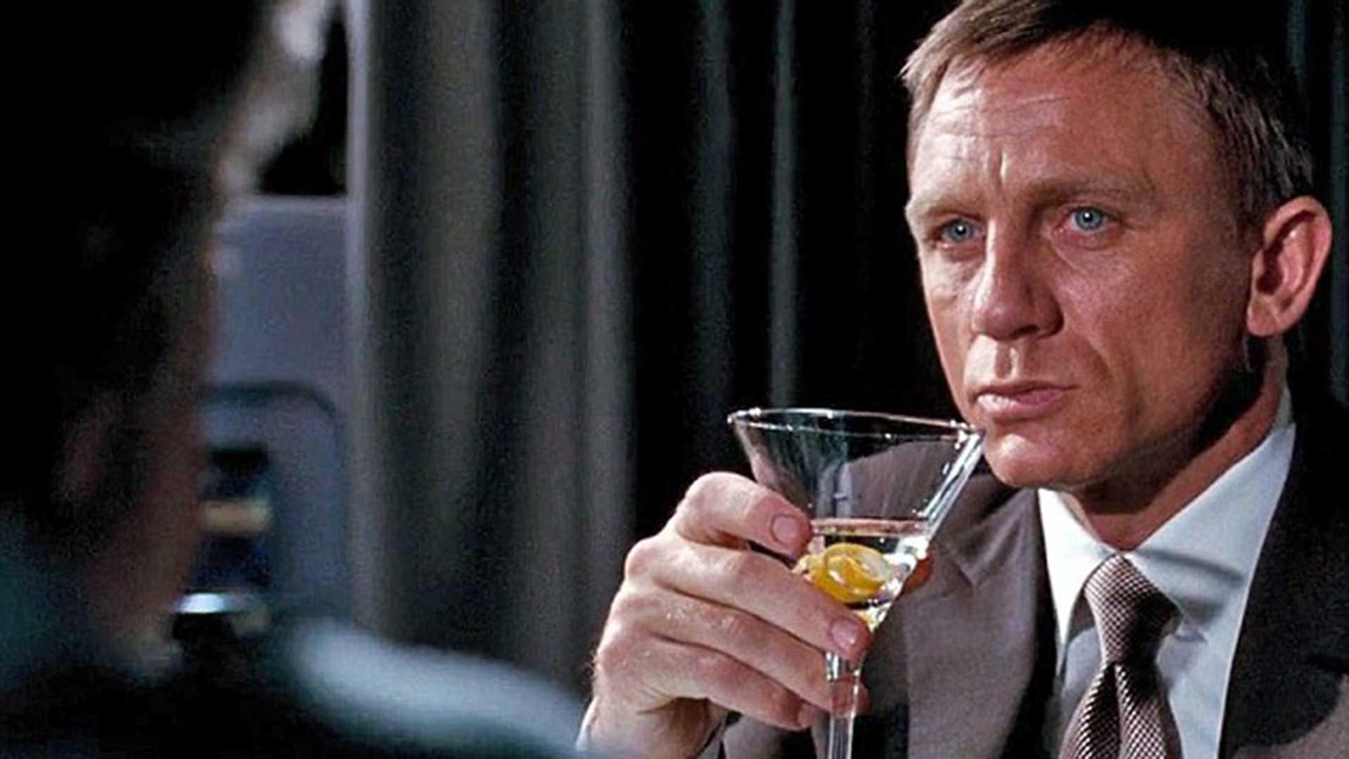 James Bond has 'severe chronic alcohol problem,' according to health experts