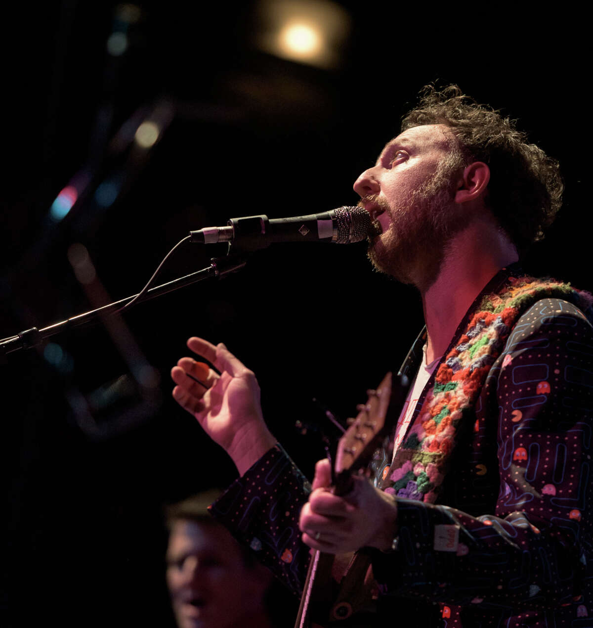 Ryan Miller performs with Guster at The Heights Theater, March 27, 2019.