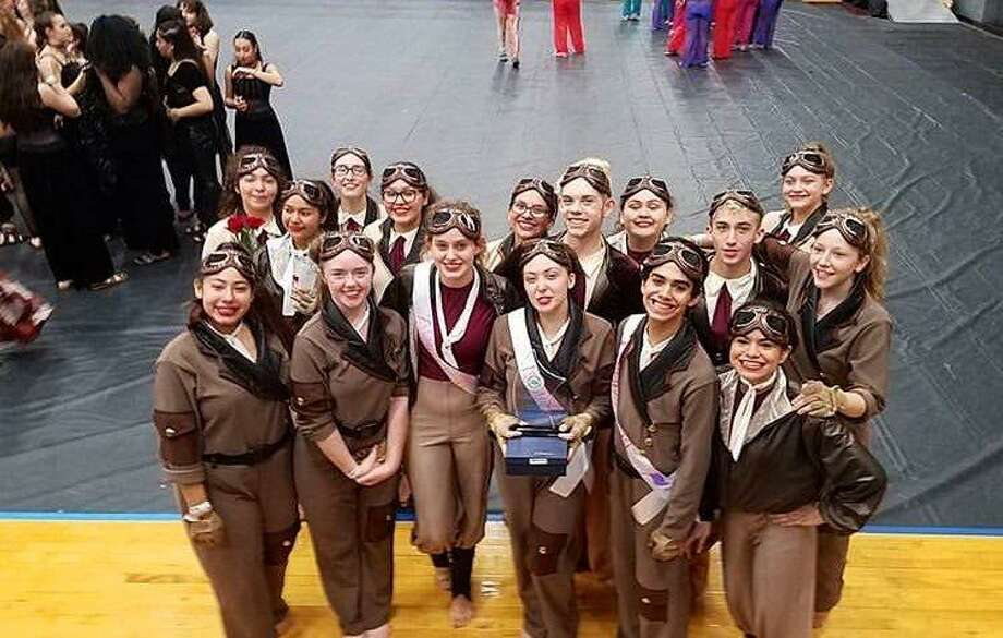 This Alvin High School team will compete in the WGI Color Guard World Championships that start April 3 in Dayton, Ohio.