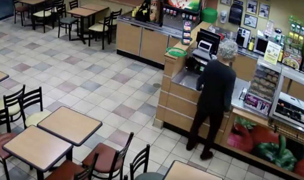 The man walked up to the employee behind the counter and as if the employee liked his mask, according to the Houston Police Department.