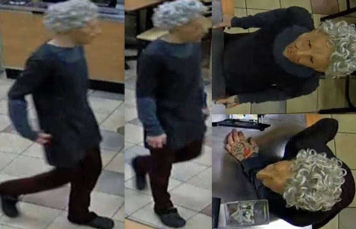 Houston police detectives are looking for information on a masked robbery inside a Subway on Jan. 14, 2019.
