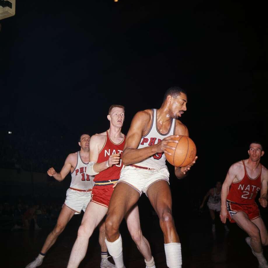 1. Wilt Chamberlain, Philadelphia (1961-62) 4,029 points Photo: Bettmann/Bettmann Archive