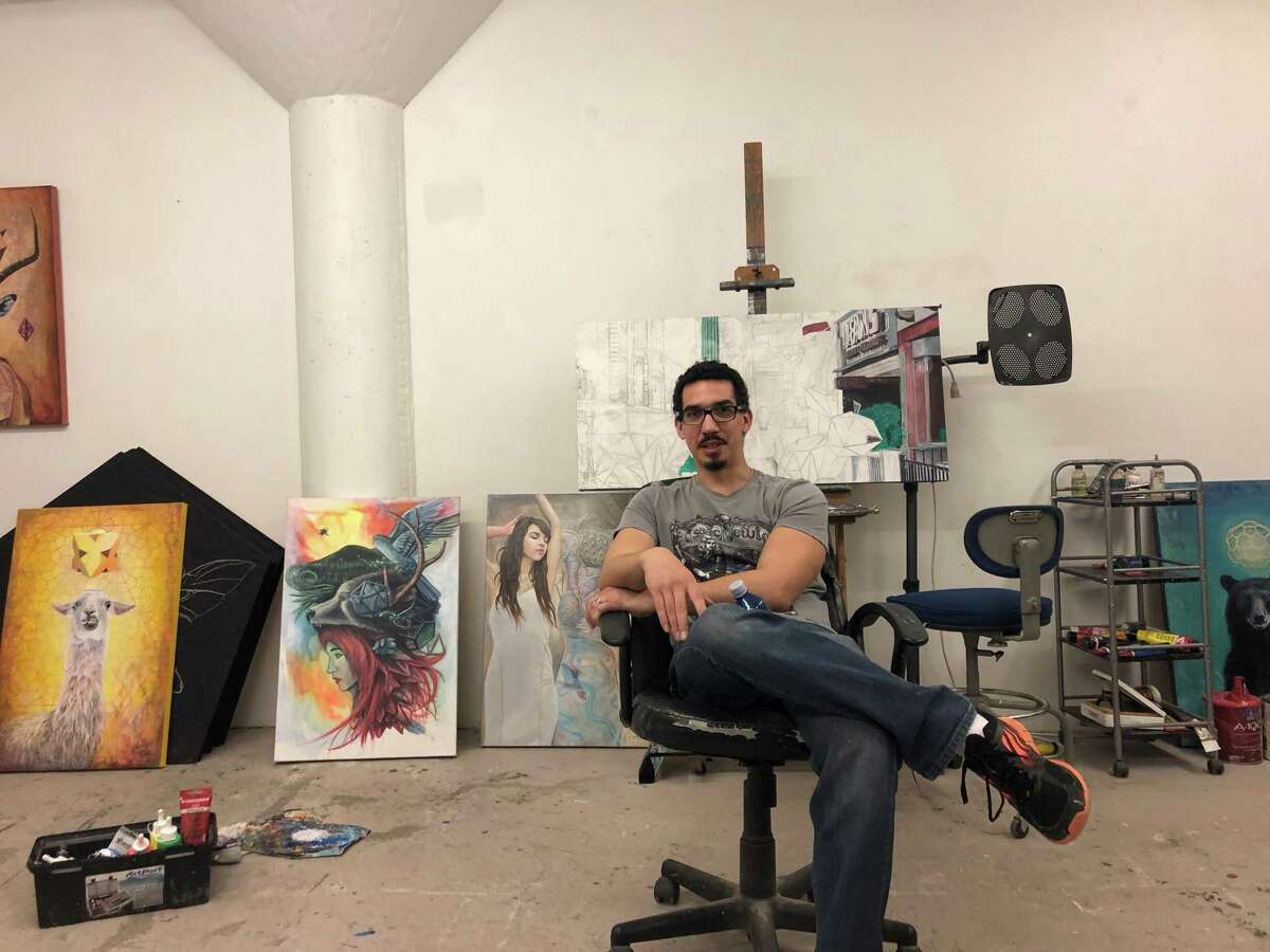 Vincent Fink is one of the four working artists to be featured at the Glow Ball. The event will support Fresh Artists, a nonprofit that works to foster Houston's working artists. Here, Fink discusses some of his work.