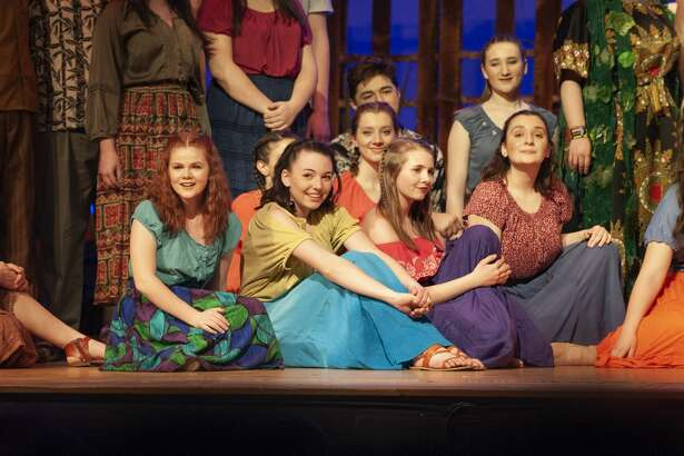 "The Queensbury High School production of ""Once on this Island."""