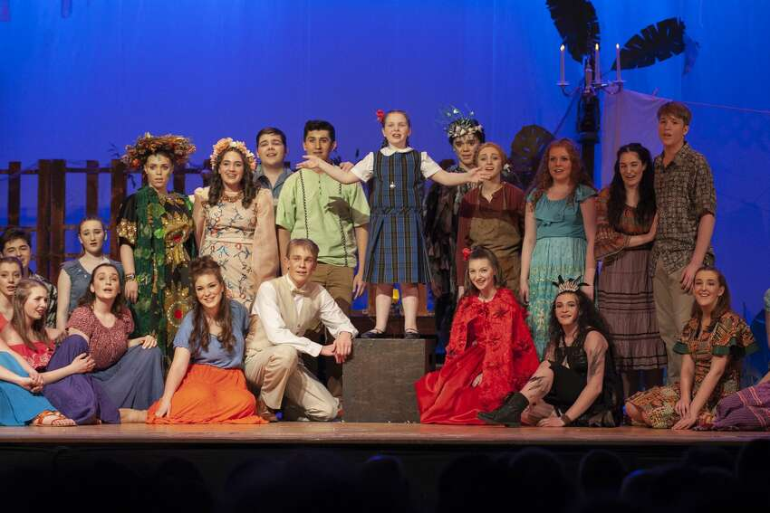 The Queensbury High School production of