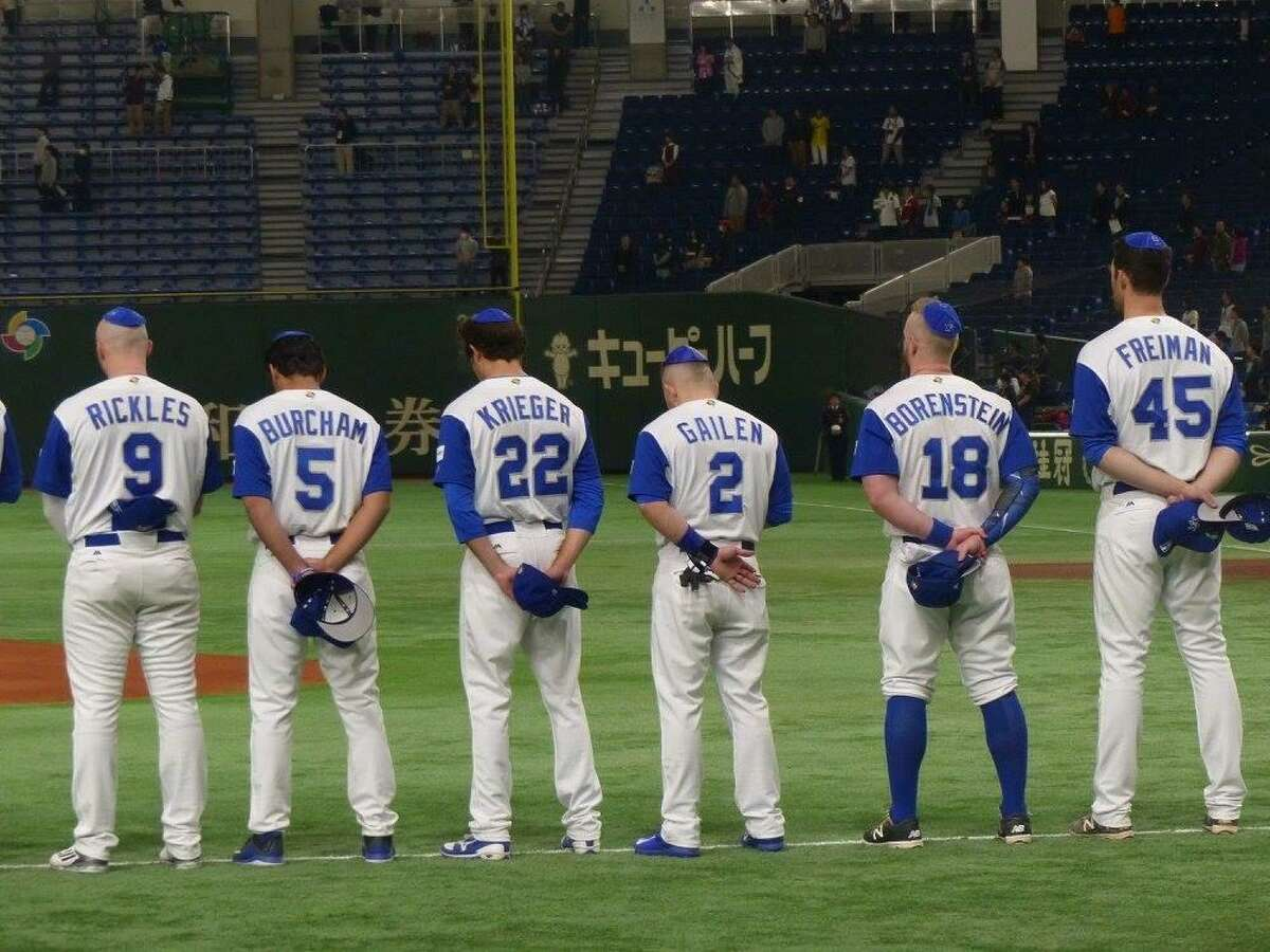 Scene from the documentary 'Heading Home: The Tale of Team Israel