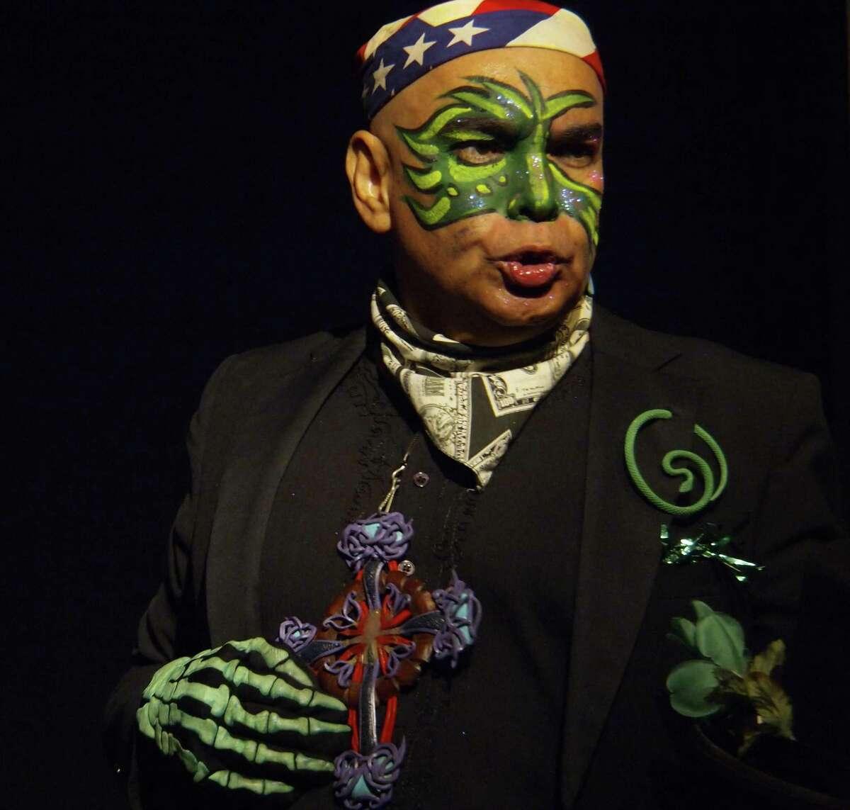 Performance artist Jose Torres-Tama