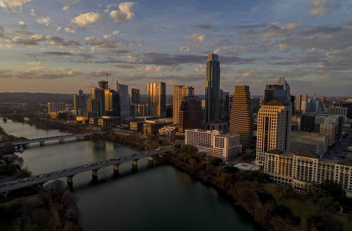 Austin, Texas, seen in 2018. Texas' population growth of 15.9% was more than twice California's 6.1% in the last decade, according to Census data.