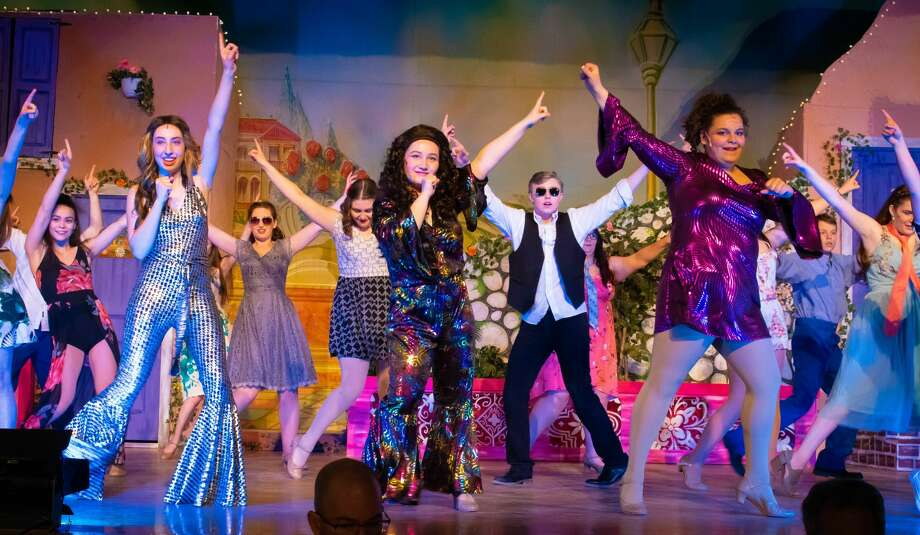 "Rehearsals for the Scotia-Glenville High School production of ""Mamma Mia!"" Photo: Molly Rose Photography"