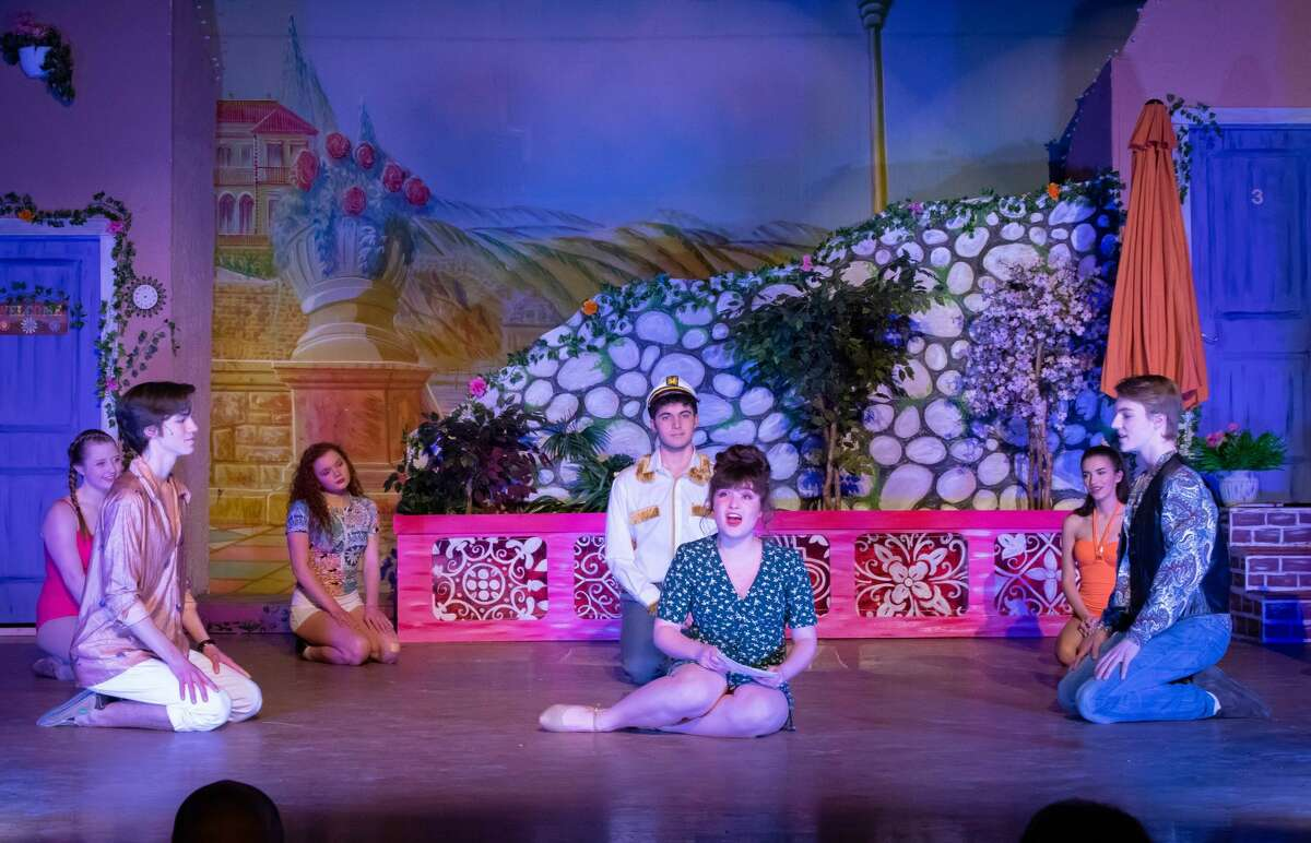 Rehearsals for the Scotia-Glenville High School production of