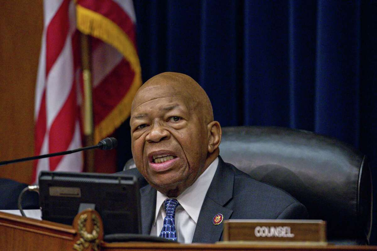 Representative Elijah Cummings, a Democrat from Maryland and chairman of the House Oversight Committee, makes an opening statement during a hearing with Wilbur Ross, U.S. commerce secretary, not pictured, in Washington, D.C., U.S., on Thursday, March 14, 2019. Photographer: Andrew Harrer/Bloomberg