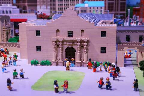 8874d124187b8  p The Alamo made from LEGO bricks at the new LEGOLAND Discovery Center at