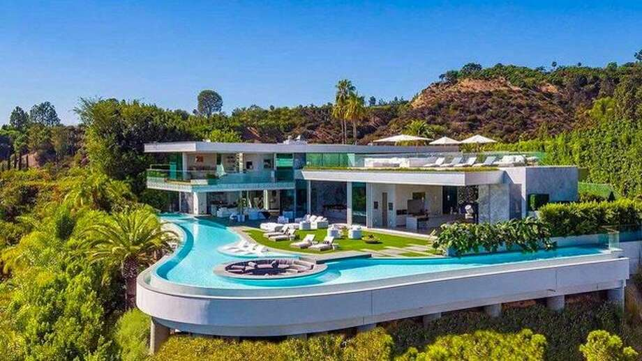 The Week's Most Expensive Listing Is a $52M Megamansion With the Coolest Pool We've Ever Seen