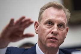 WASHINGTON, DC - MARCH 26: Acting Secretary of Defense Patrick Shanahan testifies during a House Armed Services Committee hearing regarding the fiscal year 2020 National Defense Authorization Budget Request from the Department of Defense, March 26, 2019 in Washington, DC. President Donald Trump has asked for a Pentagon budget of over 700 billion dollars for the 2020 budget.  (Photo by Drew Angerer/Getty Images)