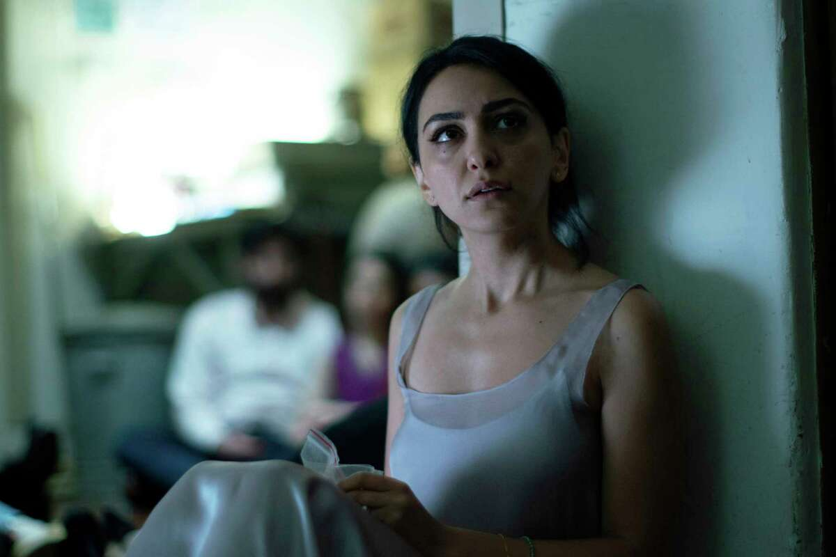 This image released by Bleecker Street shows Nazanin Boniadi in a scene from