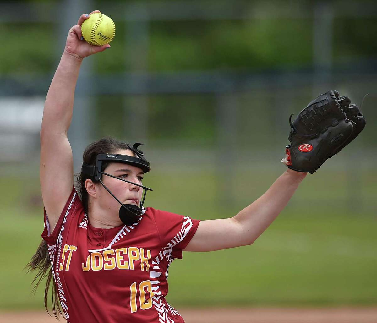 St. Joseph's Payton Doiron has allowed just five earned runs in more than 40 innings so far this spring.