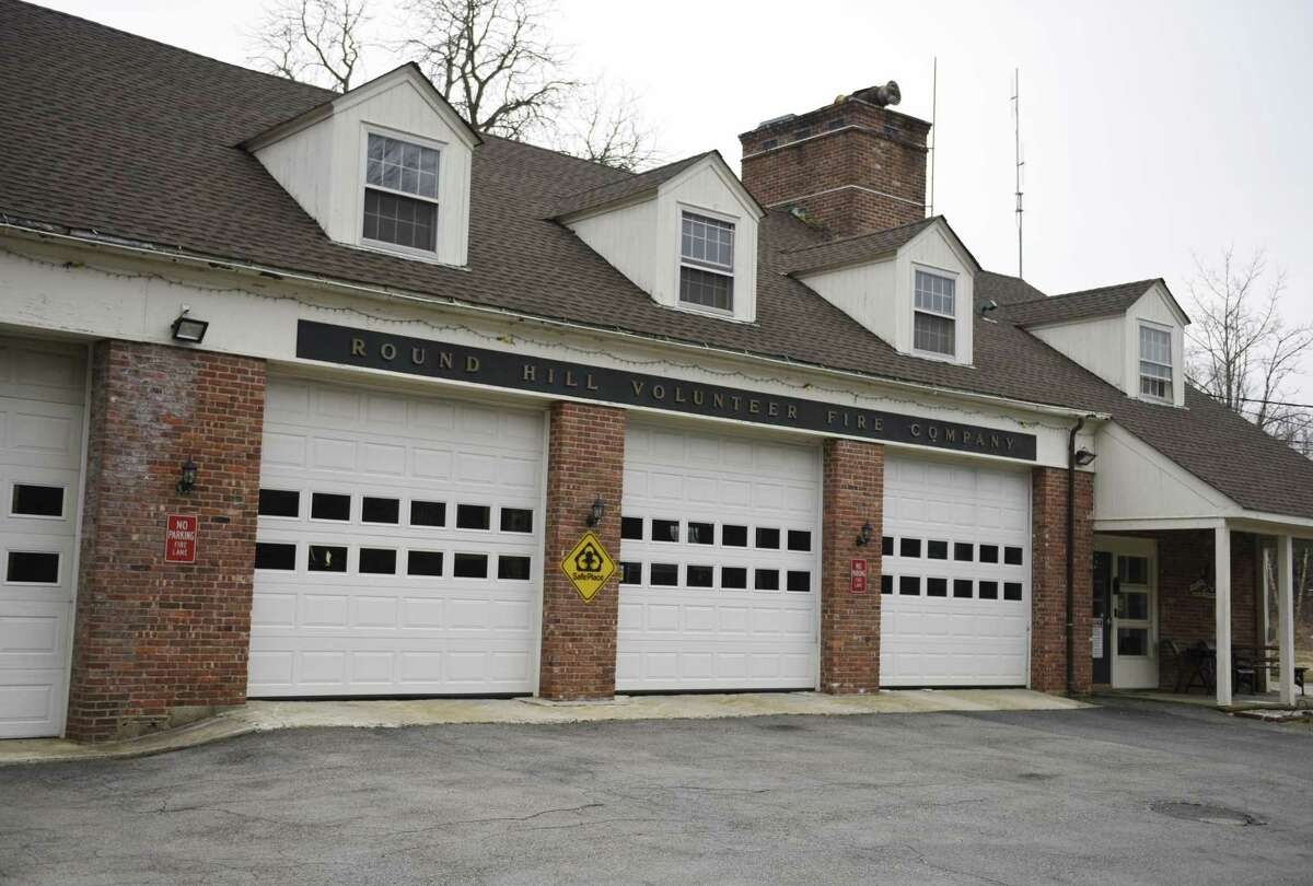 The Round Hill Volunteer Fire Department in Greenwich