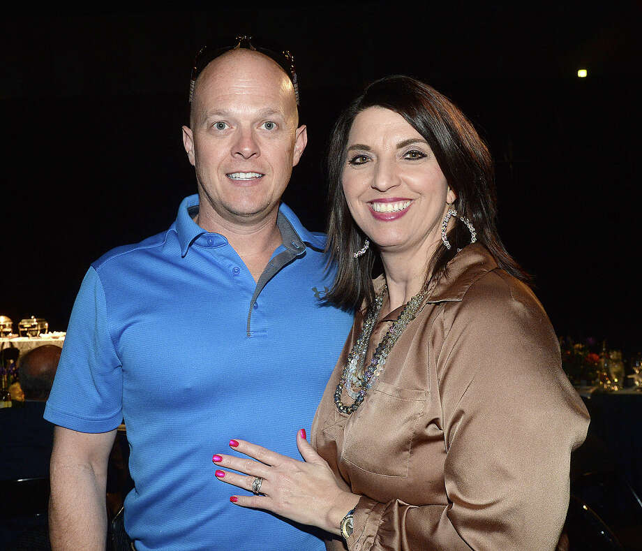 Marcus and Diane Sheffield were at Blowout 2019, the annual Texas Energy Museum sponsorship event featuring keynote speaker Karl Rove. Photo taken Thursday, March 28, 2019 Kim Brent/The Enterprise Photo: Kim Brent/The Enterprise