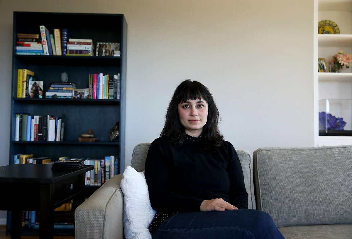 """Shirin Oloumi, a prosecutor for the SF DA's office who's known as the """"Queen of Car Burglaries,"""" poses for a portrait in Oakland, Calif., on Tuesday, March 12, 2019. Oloumi's one of the few people in the city who seems to take the property crime seriously."""