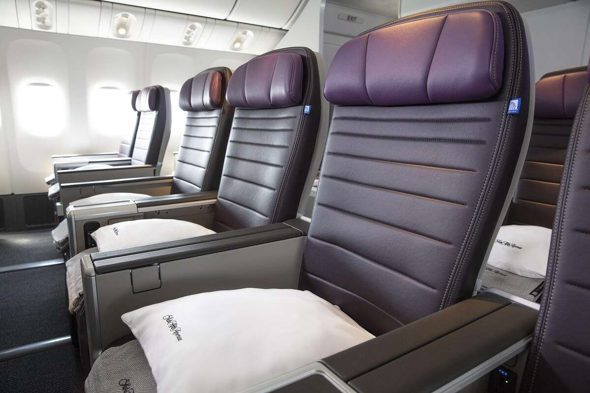Premium Plus passengers will receive special Saks Fifth Avenue bedding, including a pillow and throw blanket.
