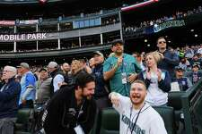 Scenes from the Seattle Mariner's home-opener against the Boston Red Sox at the newly renamed T-Mobile Park, Thursday, March, 28, 2019.