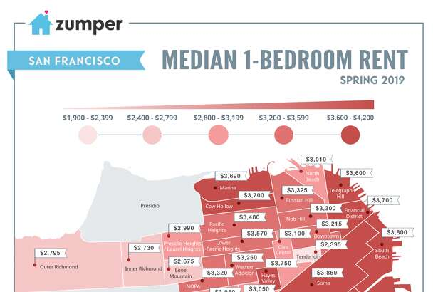 Apartments and homes for rent in the San Francisco Bay Area ... on san francisco rent rates, heat map, san francisco neighborhoods to avoid, portola ca map, abu dhabi rent map, austin rent map, san francisco rent chart, san francisco ca,