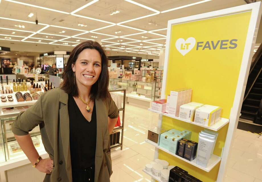 Lord + Taylor President Vanessa LeFebvre stands in the Lord + Taylor store at 110 High Ridge in Stamford, Conn., on Wednesday, March 20, 2019. Photo: Matthew Brown / Hearst Connecticut Media / Stamford Advocate