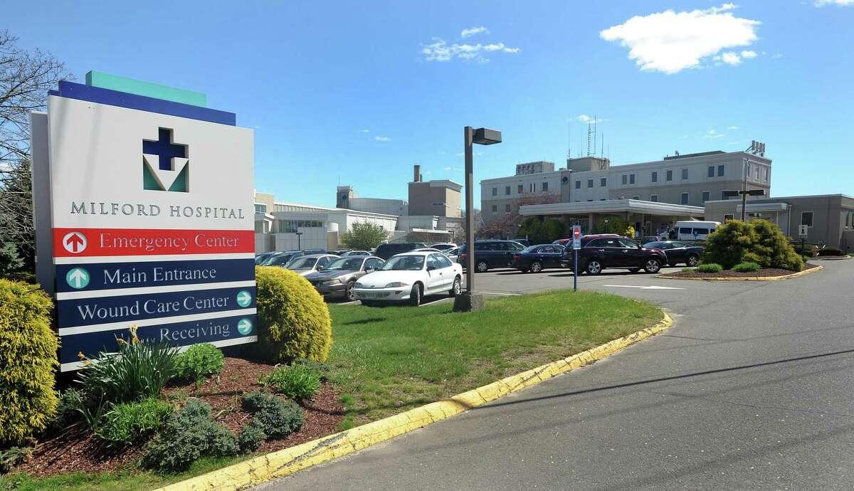 Milford Hospital 281 Seaside Avenue Milford, CT 06460 (203) 783-1196 Bridgeport Ave. entrance