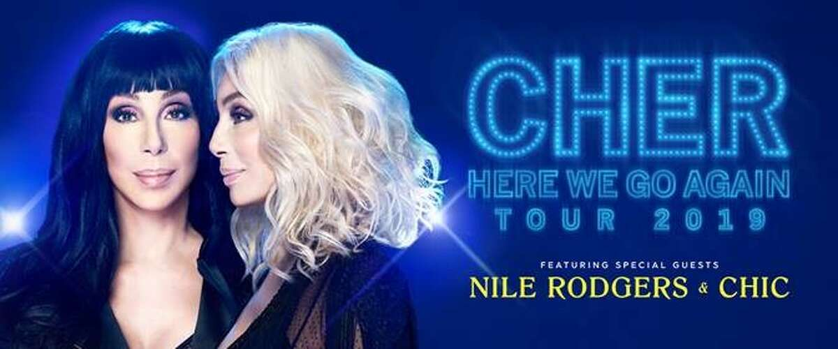 Cher's Here We Go Again Tour will be in San Antonio on Dec. 17.