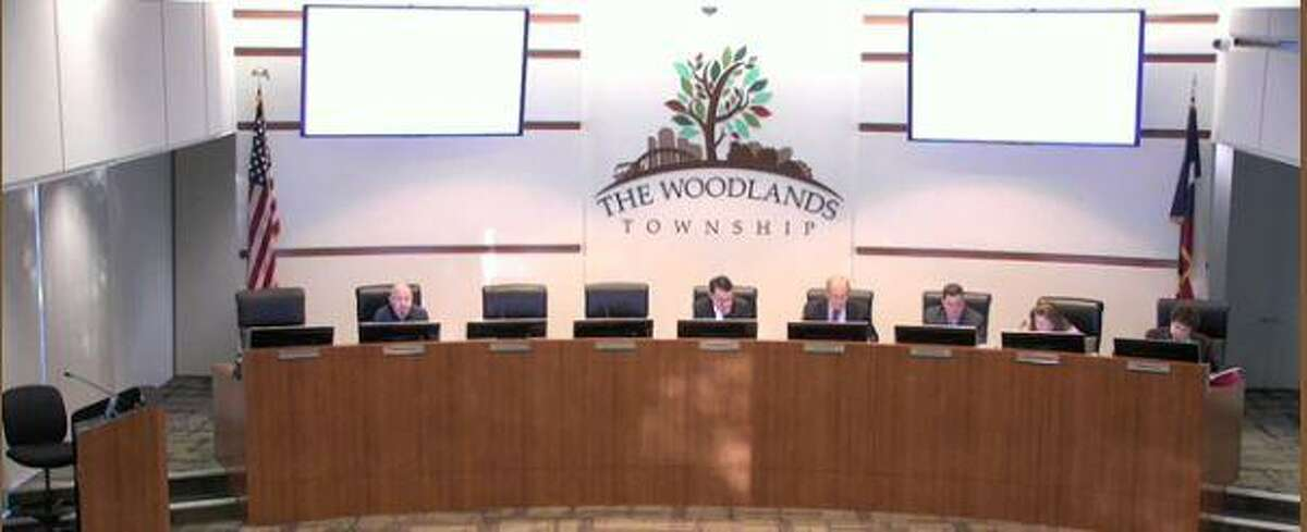 The Woodlands Township Board of Directors met with only four members on Wednesday, March 27.