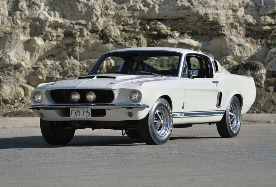 One family enjoyed owning this matching-numbers 1967 Ford Shelby GT350 Fastback (Lot S120) from 1973 to 2016. (Photo courtesy of Mecum)