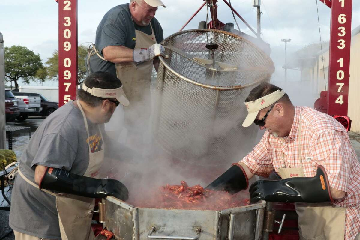 The Fort Bend County Fair Crawfish Boil and Fish Fry will be on Friday, April 12. It benefits the county fair's scholarship program.
