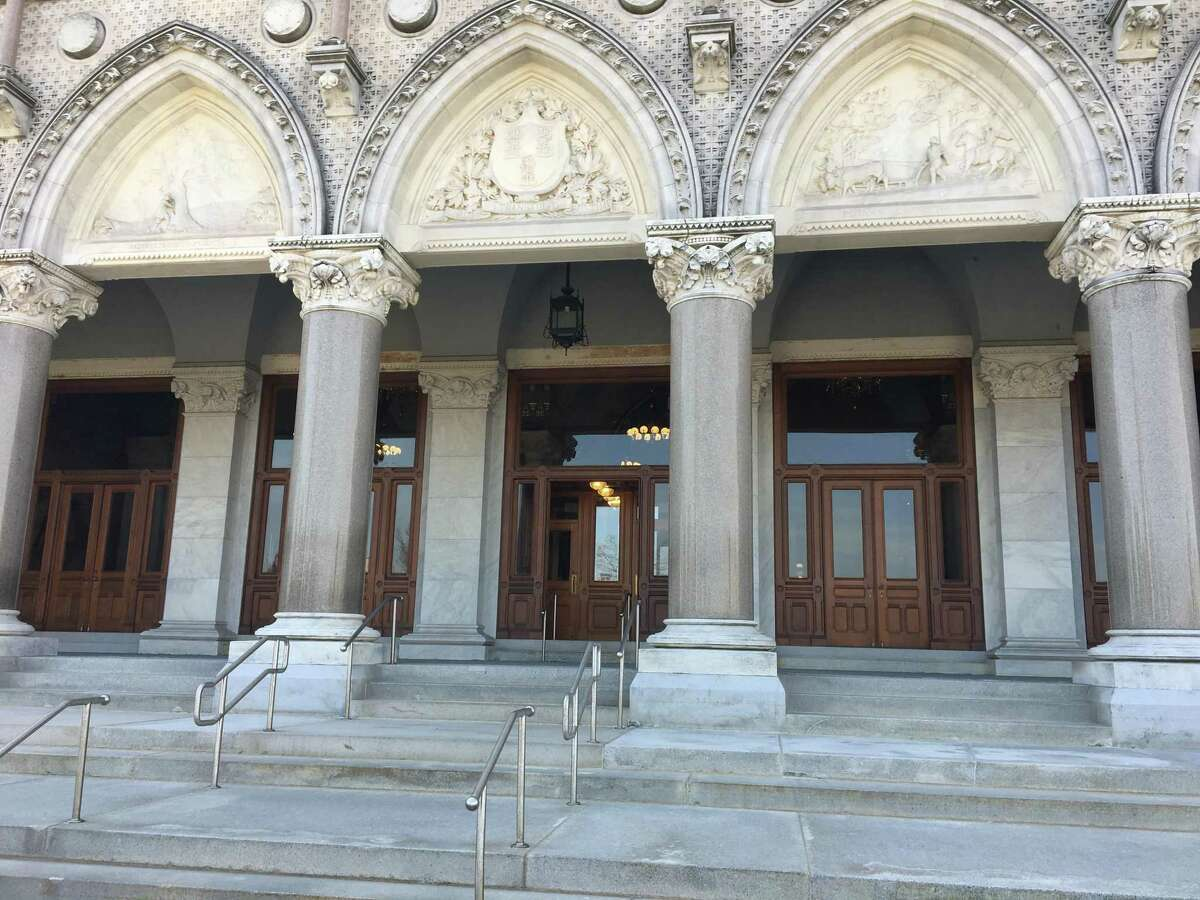 The State Capitol's ornate marble and granite exterior is suffering from deferred maintenance.