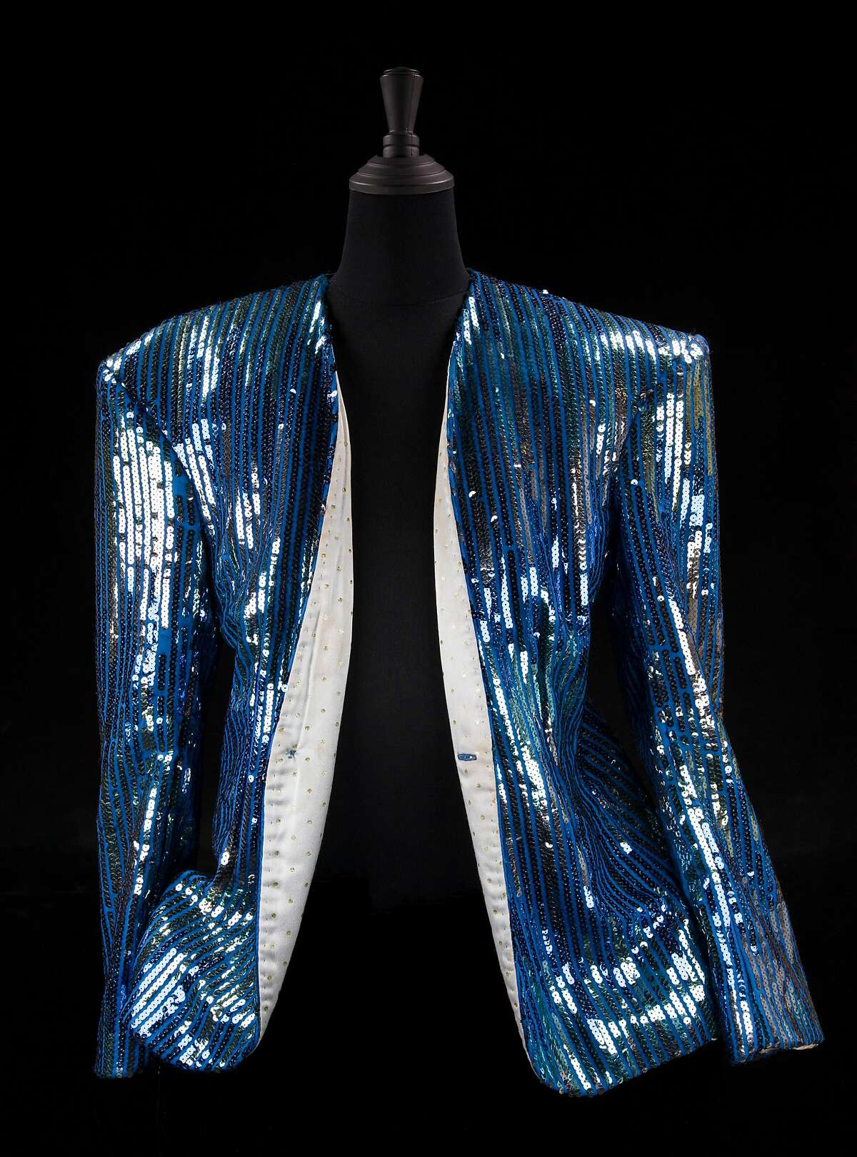 Sylvester Jacket, Photo by the Oakland Museum of California. The Sylvester collection, Courtesy of the Gay, Lesbian, Bisexual, Transgender Historical Society.