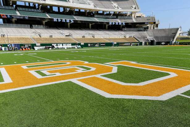 WACO, TX - SEPTEMBER 09: Midfield at McLane Stadium before the game between the Baylor Bears and the UTSA Roadrunners on September 9, 2017 at McLane Stadium in Waco, Texas. UTSA defeats Baylor 17-10. (Photo by Matthew Pearce/Icon Sportswire via Getty Images)