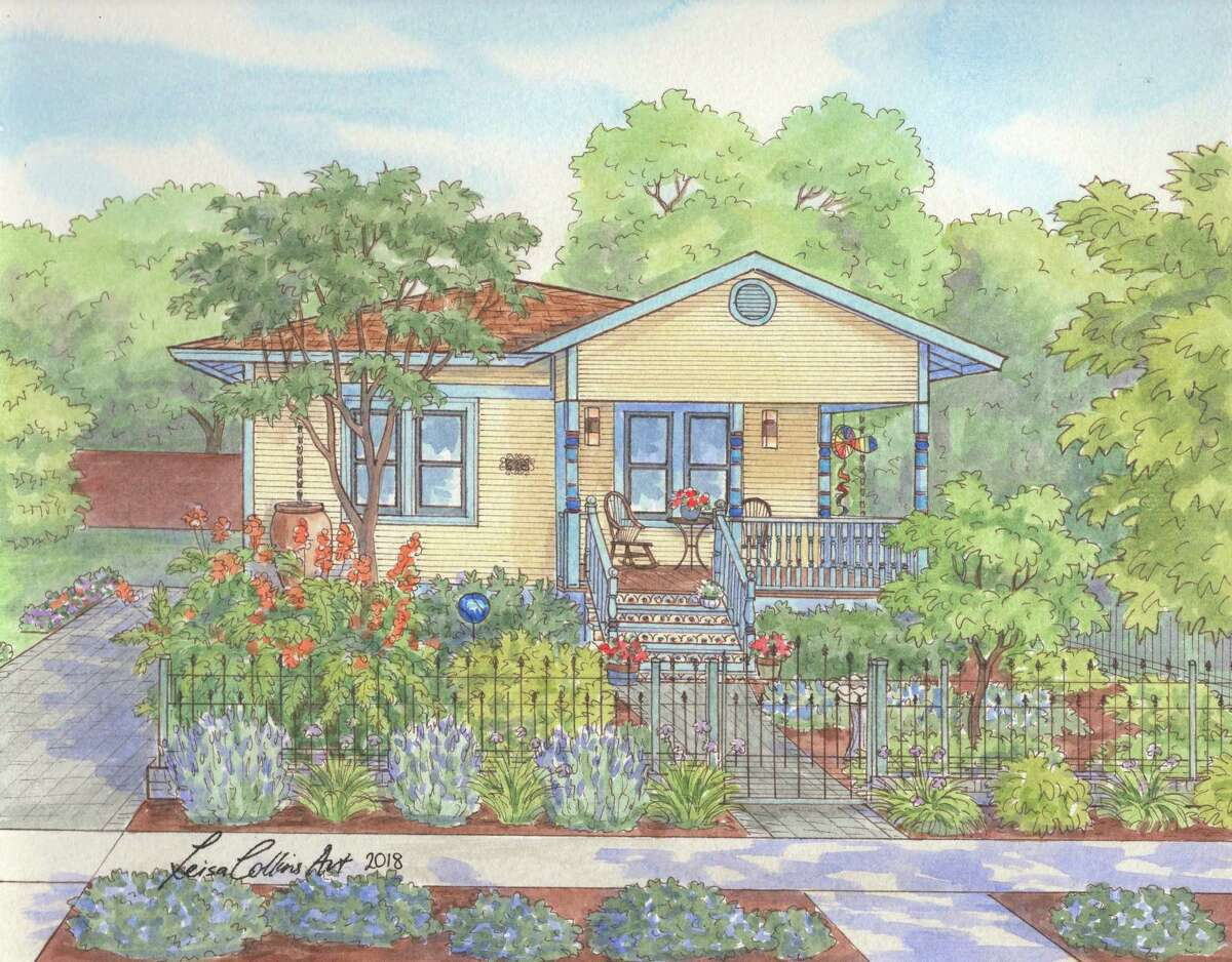 """628 E. Guenther St. in King William. Leisa Collins calls the homeowners who renovate and care for older homes like this one in the King William neighborhood """"unsung heroes."""""""
