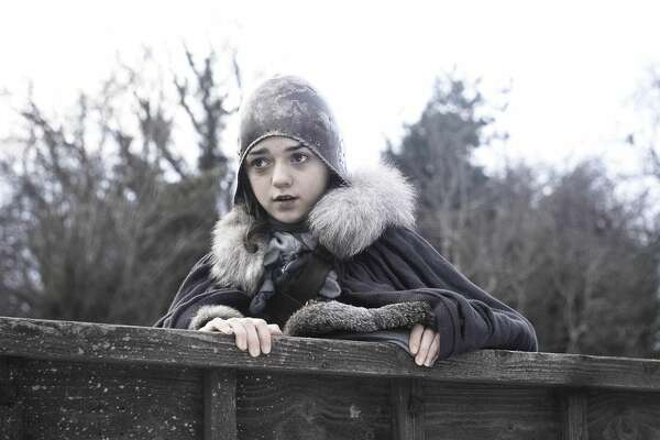 Game of Thrones stars, from season 1 through today Arya Stark in the first season of Game of Thrones. English actress Maisie Williams was just 13 when she filmed the initial season, and it was her first professional acting role.