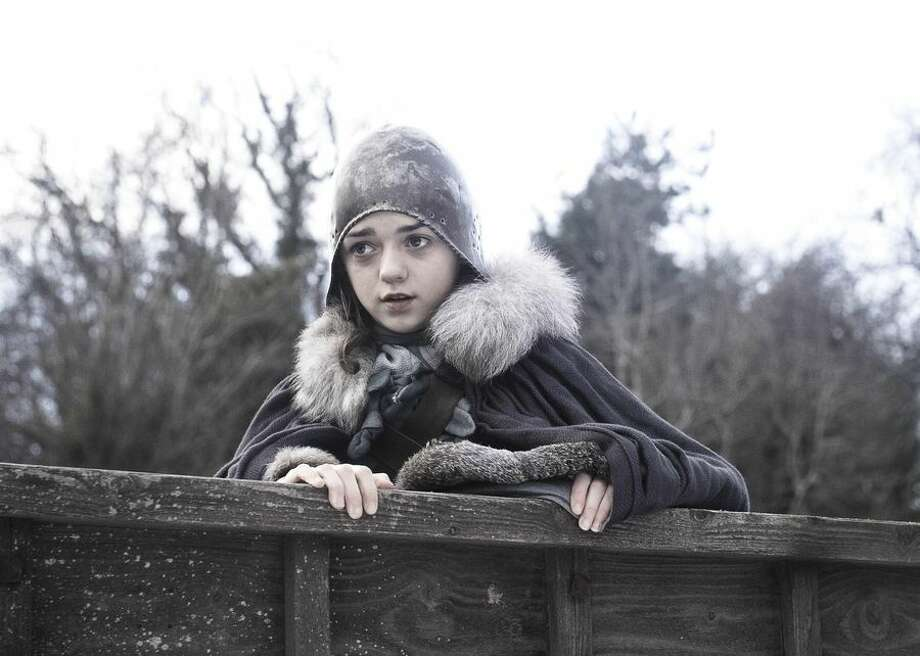 Game of Thrones stars, from season 1 through today                 Arya Stark in the first season of Game of Thrones. English actress Maisie Williams was just 13 when she filmed the initial season, and it was her first professional acting role. Photo: CBSI/CNET
